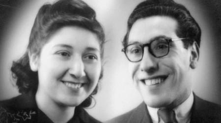 Rina en Mau van Thijn, die samen Auschwitz overleefden